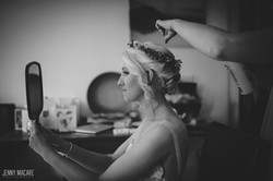 Bridesmaid hair and make up Notts