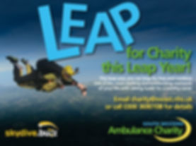 Leap for Charity this Leap Year!