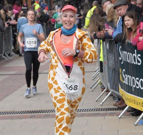 Yeovill Half Marathon Sharon Wells