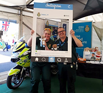 South Western Ambulance Charity Knitted Teddies
