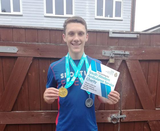 South Hams Triathlon Lewis Barlett