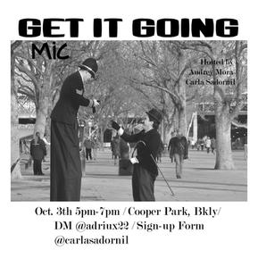GIG MIC INVITATION 0CT 3rd