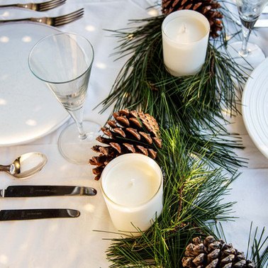 Styled Christmas Lunch