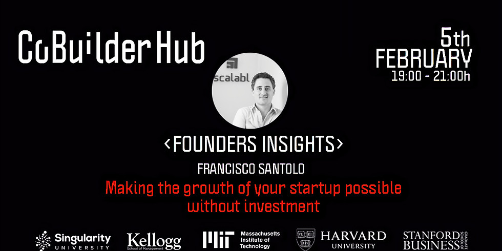 <Founders Insights> Making the growth of your startup possible without investment or fixed costs