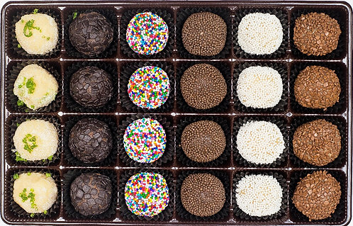 Traditional Selection (24 Brigadeiros)