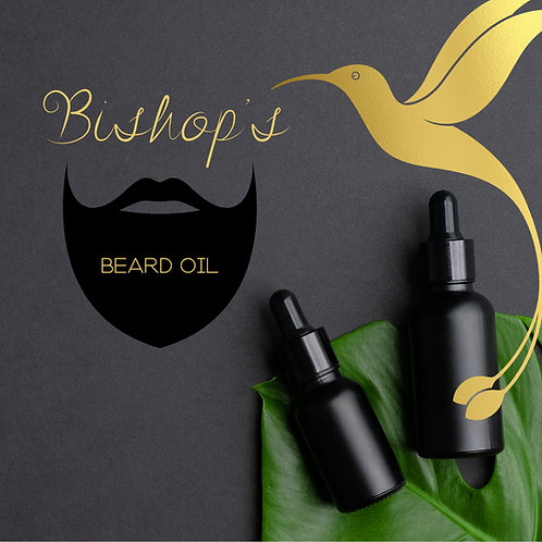 Peppermint Beard Oil (2 oz)