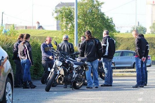 Groupe motards