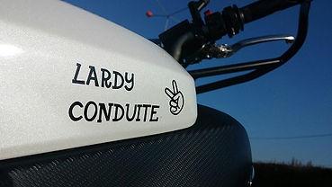 MT07 Lardy Conduite