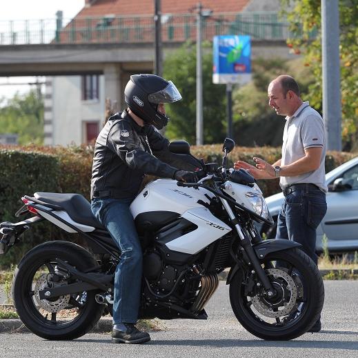 Leçon Moto