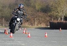 Plateau moto Lardy COnduite