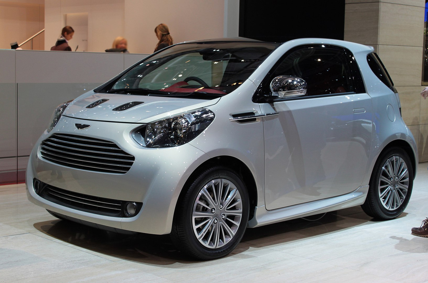 Aston Martin Cygnet at the 2010 Geneva Motor Show