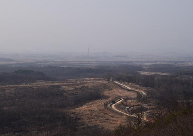 DMZ, Korea, March 2018
