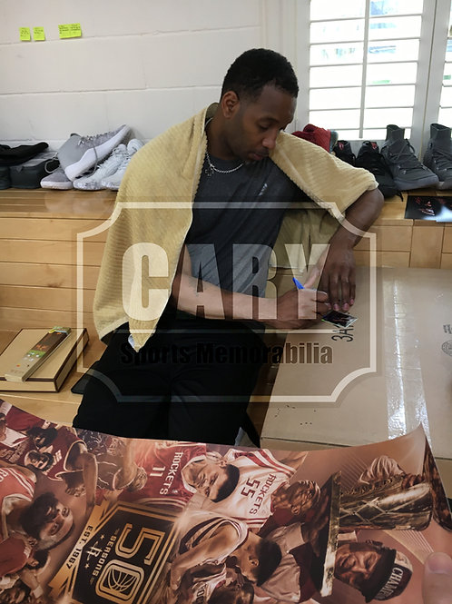 Tracy McGrady Private Signing - Feb 26th, 2018