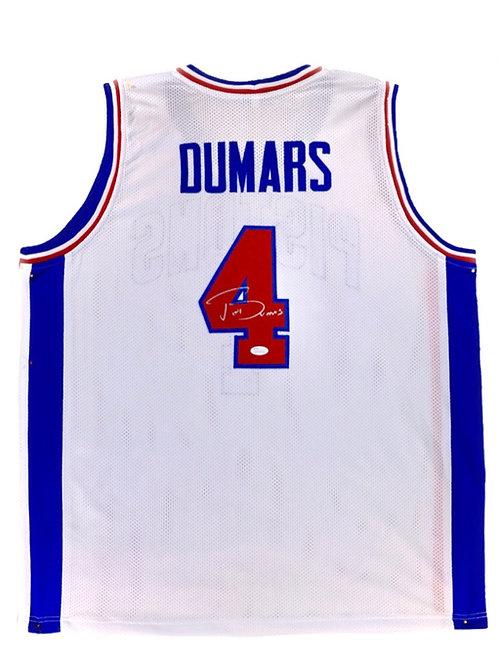 Joe Dumars Autographed Custom Jersey (White)