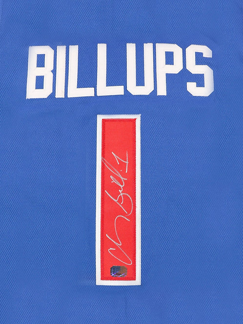 Chauncey Billups Autographed Custom Jersey (Blue)