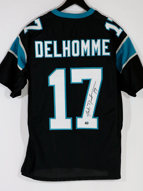 Jake Delhomme Autographed Carolina Panthers Jersey