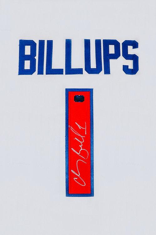 Chauncey Billups Autographed Custom Jersey (White)