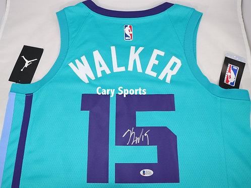 Kemba Walker Autographed Charlotte Hornets Jordan Jersey