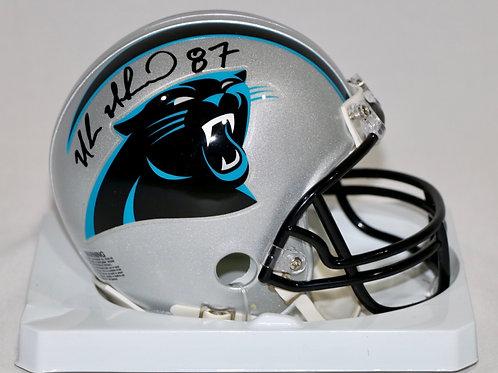 Muhsin Muhammad Autographed Carolina Panthers Mini Helmet