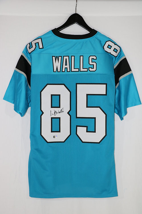 Wesley Walls Autographed Carolina Panthers Custom Jersey
