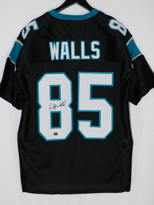 Wesley Walls Autographed Carolina Panthers Custom Jersey