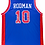 Thumbnail: Dennis Rodman Autographed Custom Jersey (Blue) HOF 2011 & 89 90 Cham