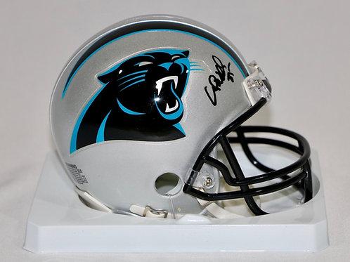 Wesley Walls Autographed Carolina Panthers Mini Helmet