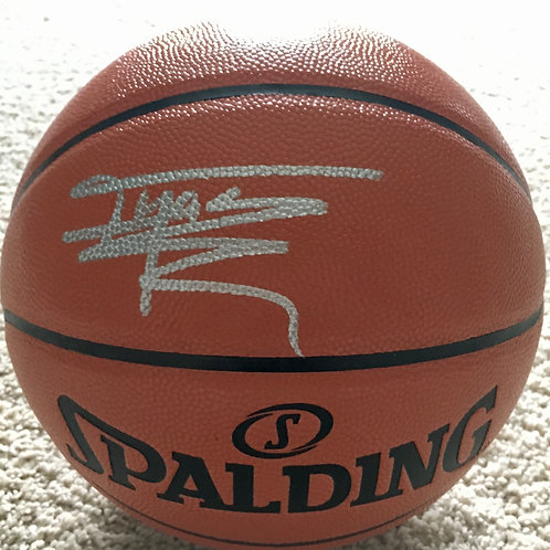 Tracy McGrady Autographed Basketball