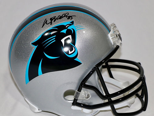 Wesley Walls Autographed Carolina Panthers Full Size Helmet