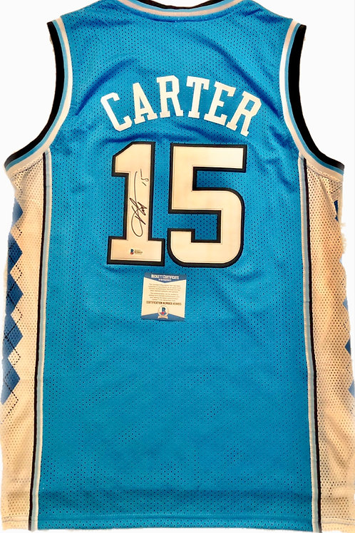 Vince Carter Autographed Custom Jersey 2