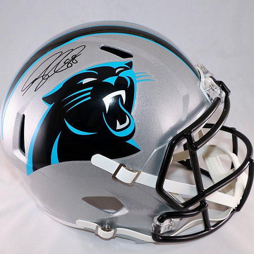Greg Olsen Autographed Carolina Panthers Full Size Replica Helmet