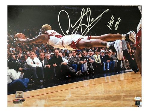 16x20 Dennis Rodman Autographed Photo