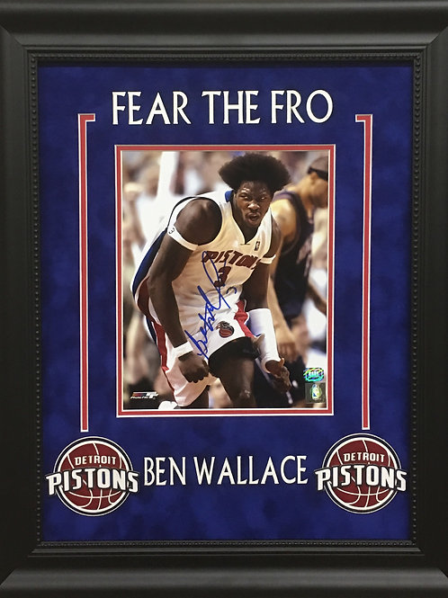 Ben Wallace Framed 8x10 Photo