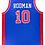 Thumbnail: Dennis Rodman Autographed Custom Jersey (Blue)