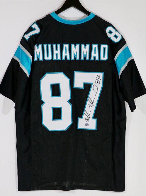 Muhsin Muhammad Autographed Carolina Panthers Jersey