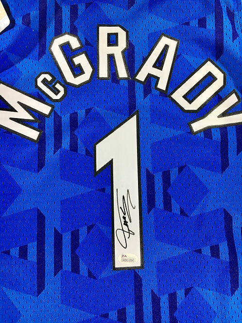 Tracy McGrady Autographed Adidas Orlando Magic Swingman Jersey