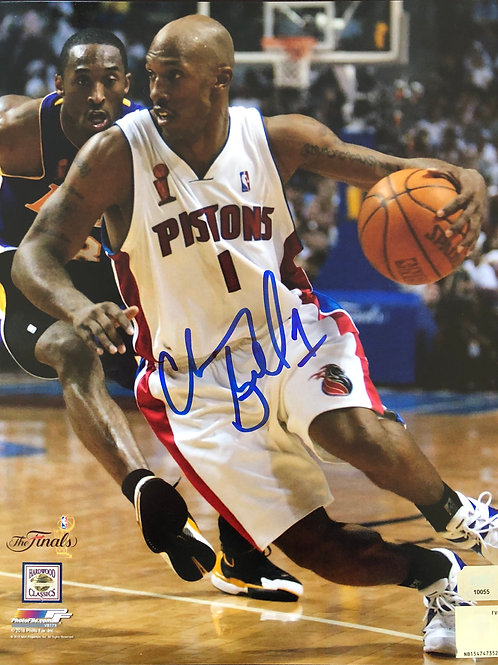 8x10 Chauncey Billups Autographed Photo