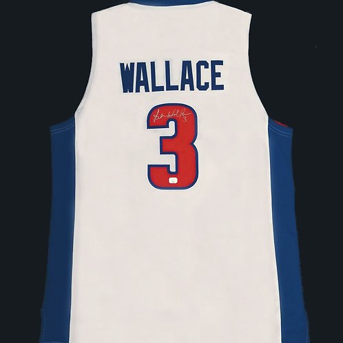 Ben Wallace Autographed Custom Jersey (White)