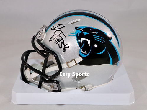 Thomas Davis Autographed Carolina Panthers Speed Mini Helmet