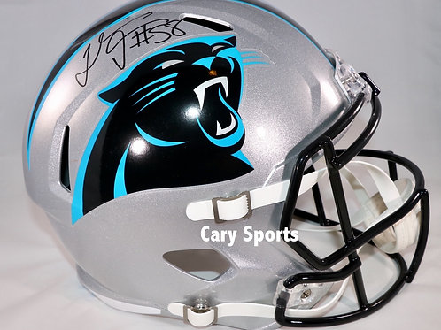 Thomas Davis Autographed Carolina Panthers Full Size Speed Helmet