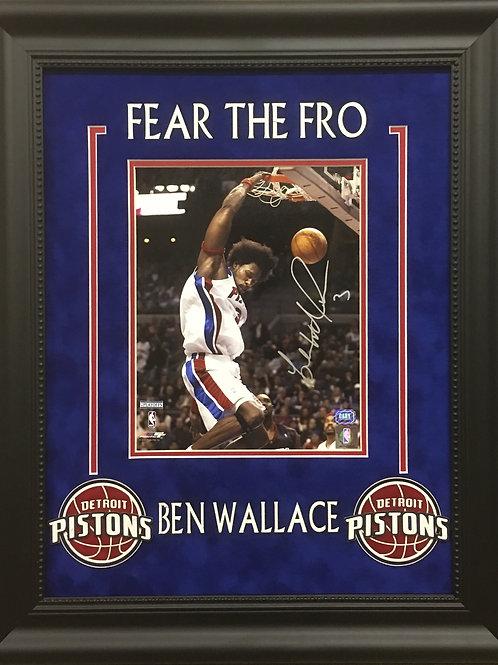 Ben Wallace Framed 8x10 Photo