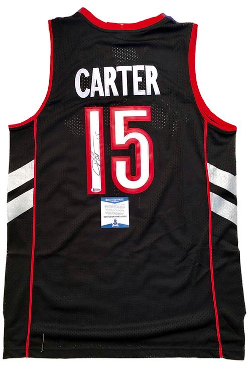 Vince Carter Autographed Custom Jersey 1