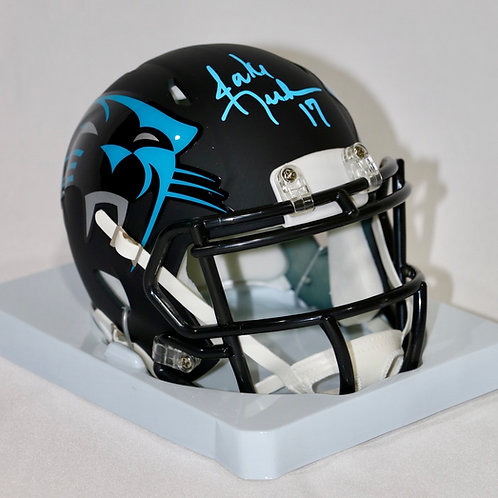 Jake Delhomme Autographed Carolina Panthers AMP Mini Helmet
