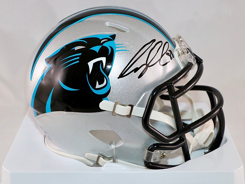 Greg Olsen Autographed Carolina Panthers Mini Helmet
