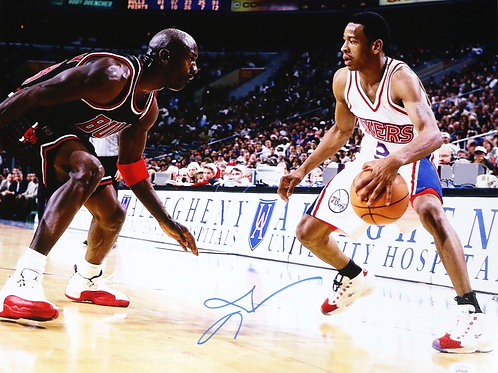 Allen Iverson Autographed 16x20 Photo 3