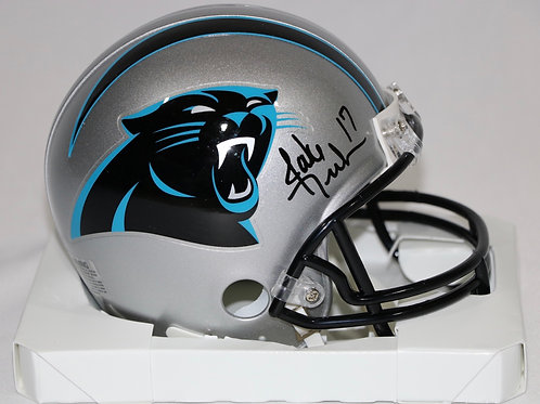 Jake Delhomme Autographed Carolina Panthers Mini Helmet
