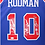 Thumbnail: Dennis Rodman Autographed Mitchell & Ness Pistons Jersey (Blue) 2 Insc.