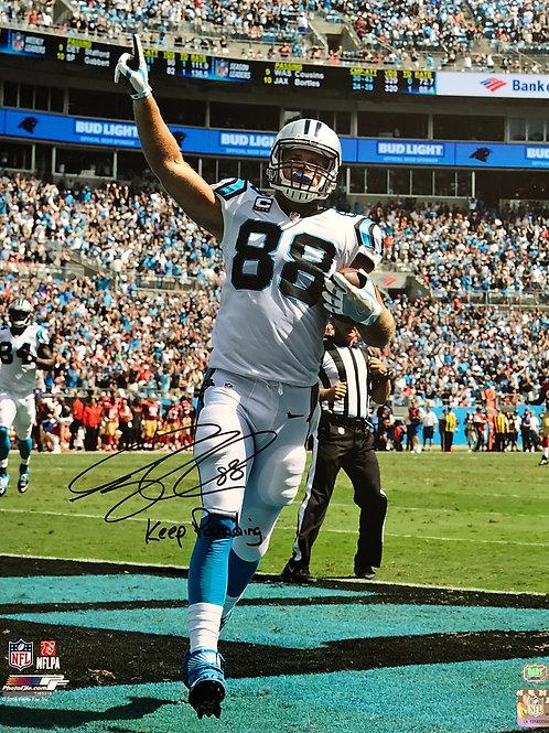 Greg Olsen Autographed 16x20 Photo w Keep Pounding