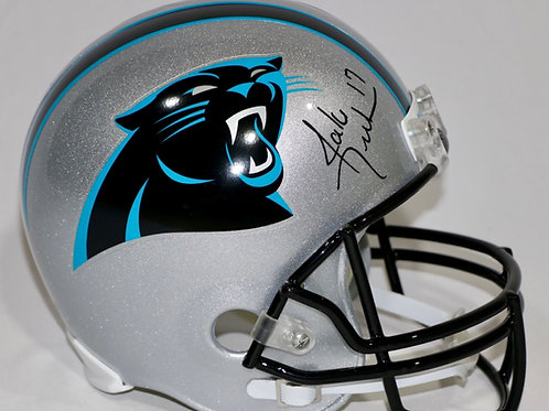 Jake Delhomme Autographed Carolina Panthers Full Size Helmet