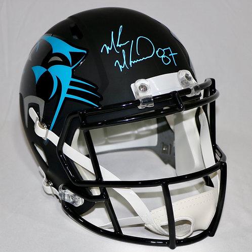 Muhsin Muhammad Autographed Carolina Panthers Full Size AMP Helmet